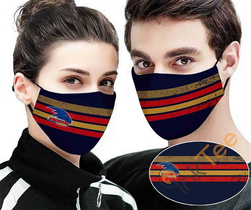 Adelaide Crows Colour Sku 2410 Amazon Best Selling Face Mask