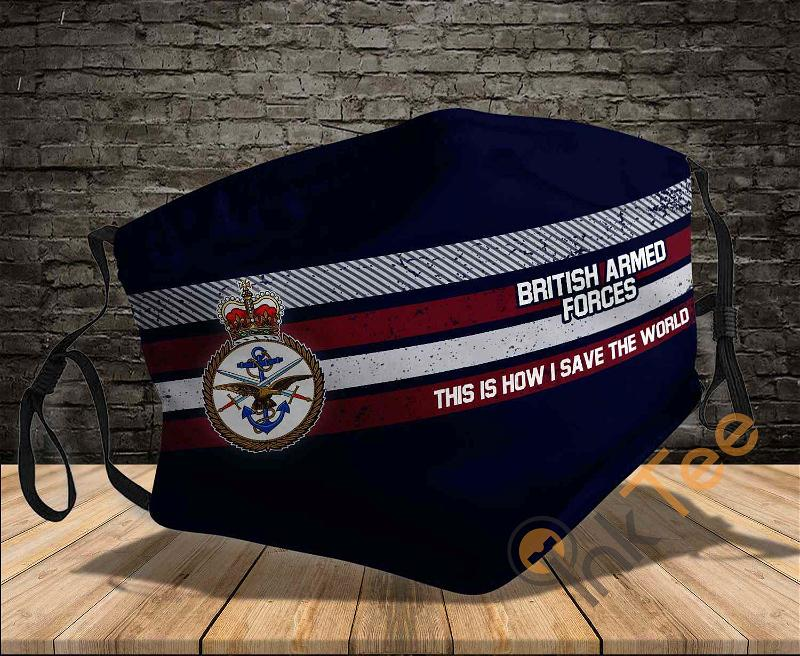 British Armed Forces This Is How I Save The World Sku 362 Amazon Best Selling Face Mask