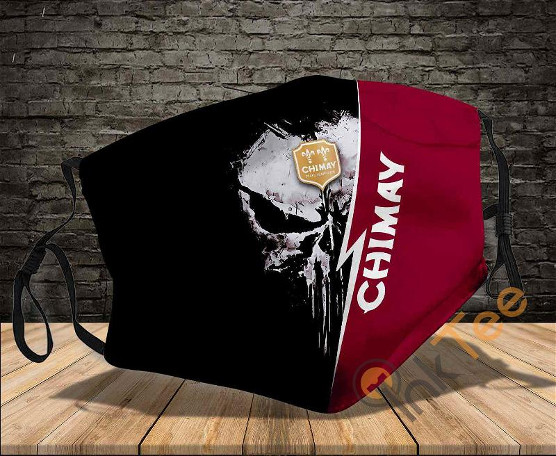 Chimay Brewery Punisher Sku 2069 Amazon Best Selling Face Mask