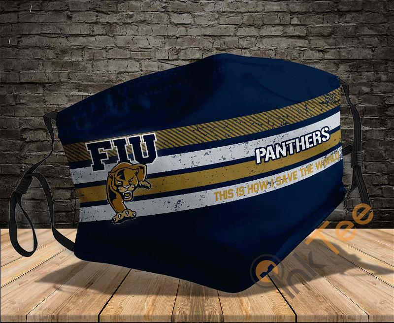 Fiu Golden Panthers Save The World Sku 847 Amazon Best Selling Face Mask