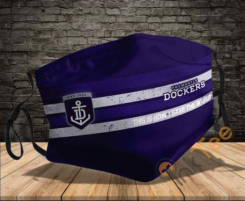 Fremantle Dockers This Is How I Save The World Sku 1471 Amazon Best Selling Face Mask