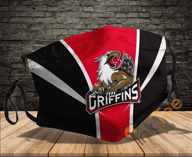 Grand Rapids Griffins Sku 1557 Amazon Best Selling Face Mask