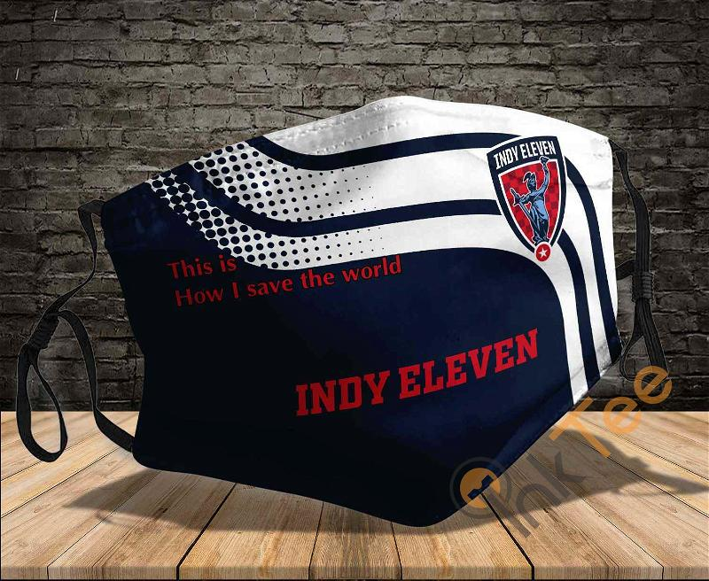 Indy Eleven Save The World Sku 1019 Amazon Best Selling Face Mask