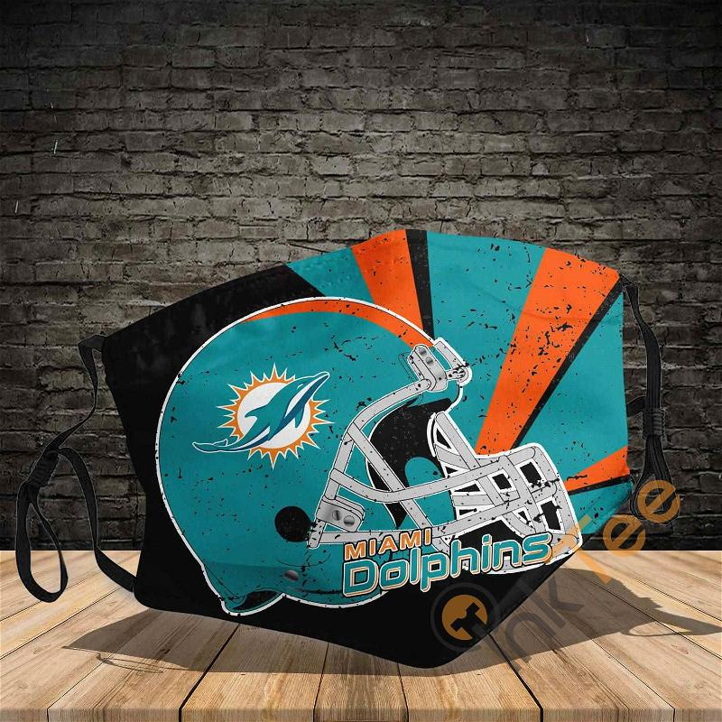 Miami Dolphins 3d Sku 542 Amazon Best Selling Face Mask