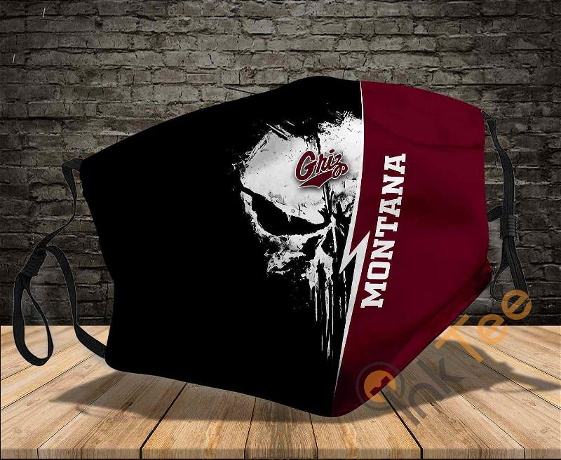 Montana Grizzlies Punisher Sku 413 Amazon Best Selling Face Mask