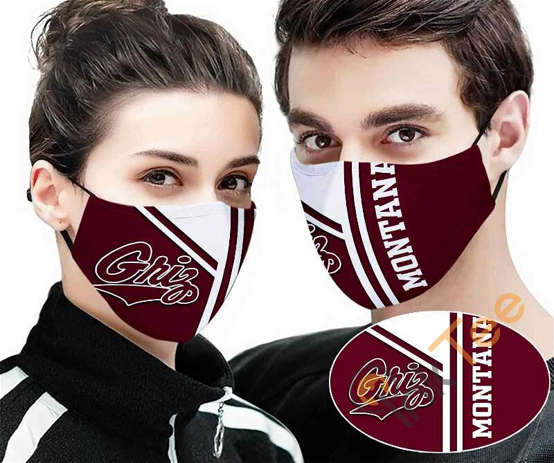 Montana Grizzlies Sku 139 Amazon Best Selling Face Mask