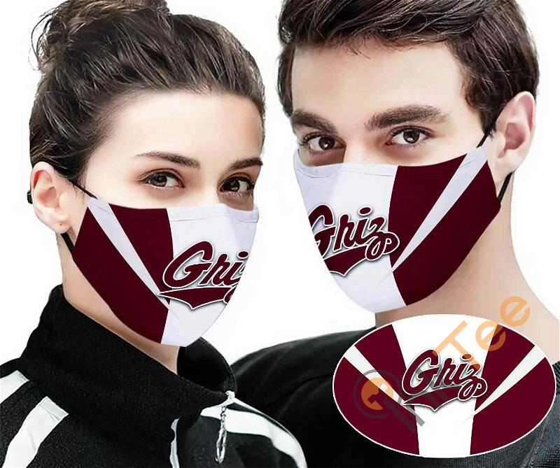 Montana Grizzlies Sku 2284 Amazon Best Selling Face Mask