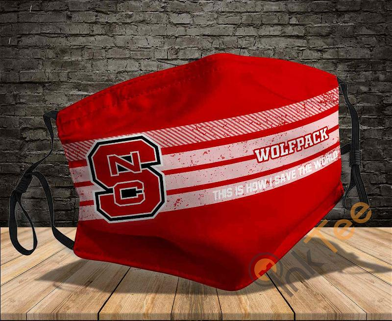 Nc State Wolfpack Save The World Sku 806 Amazon Best Selling Face Mask