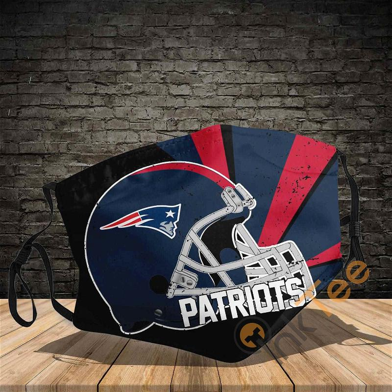 New England Patriots 3d Sku 540 Amazon Best Selling Face Mask