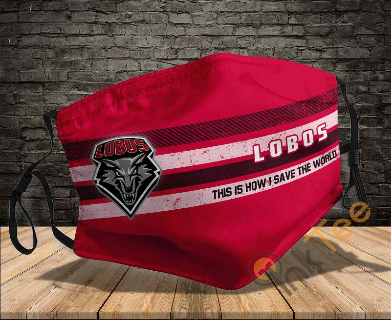 New Mexico Lobos Save The World Sku 805 Amazon Best Selling Face Mask