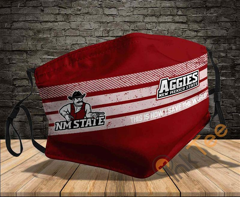 New Mexico State Aggies Save The World Sku 804 Amazon Best Selling Face Mask