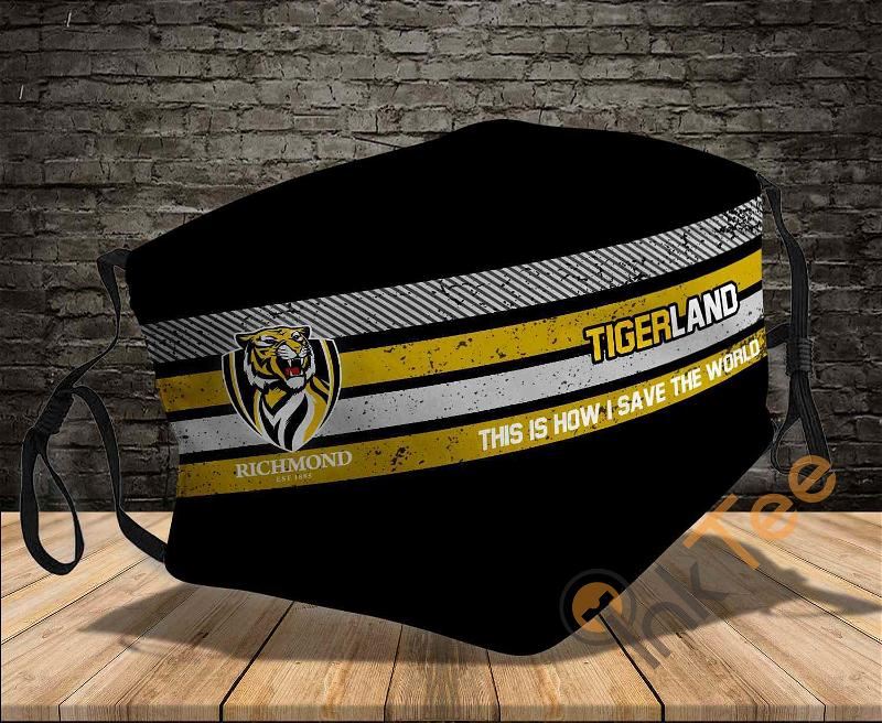 Richmond Tigers This Is How I Save The World Sku 1430 Amazon Best Selling Face Mask