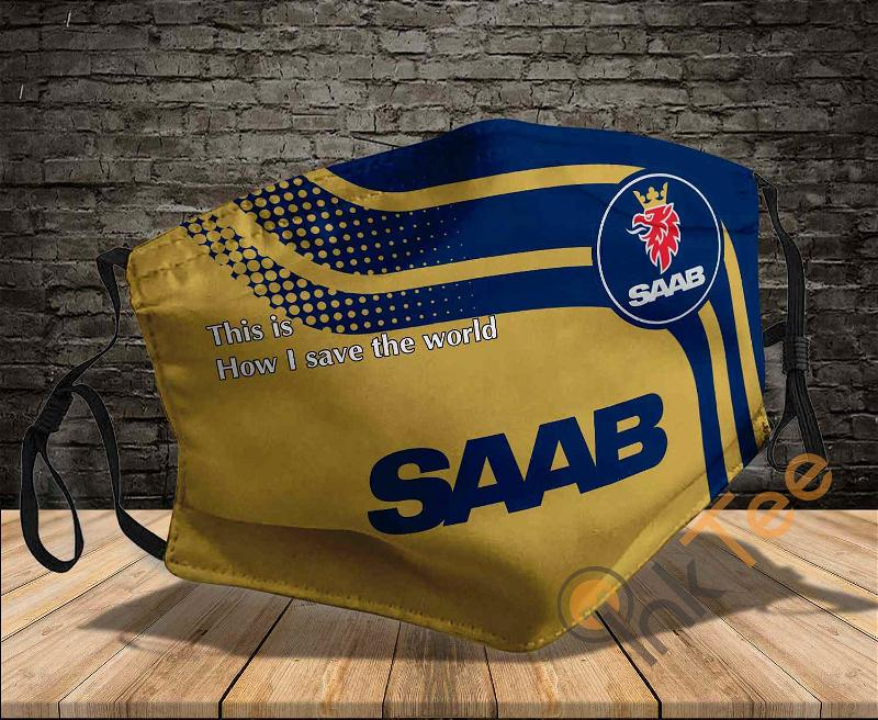 Saab Automobile Save The World Sku 933 Amazon Best Selling Face Mask