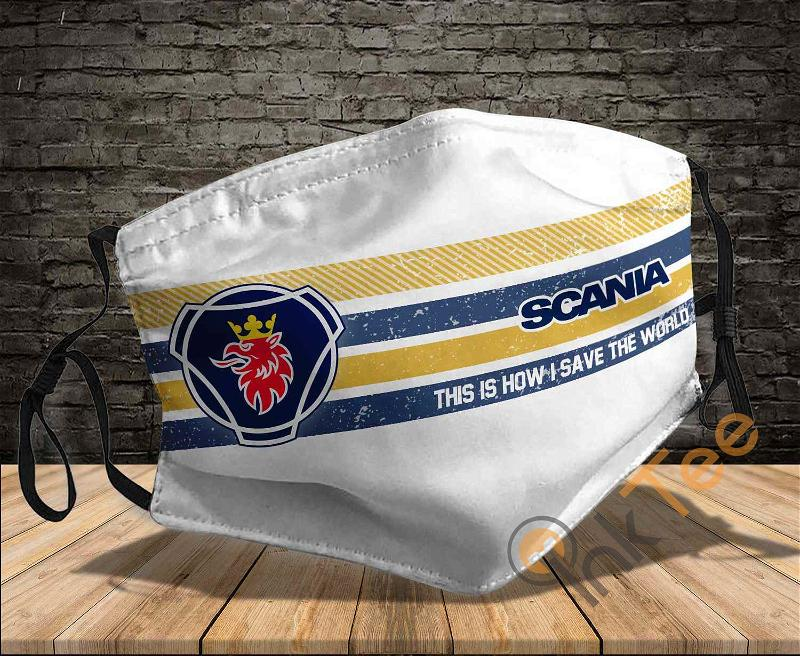 Scania This Is How I Save The World Sku 1428 Amazon Best Selling Face Mask