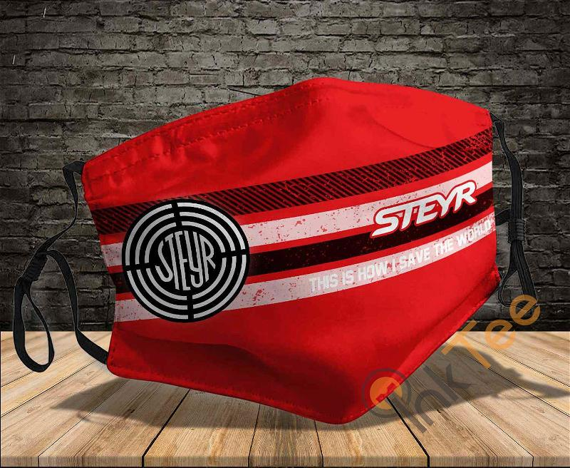 Steyr Tractor This Is How I Save The World Sku 1421 Amazon Best Selling Face Mask