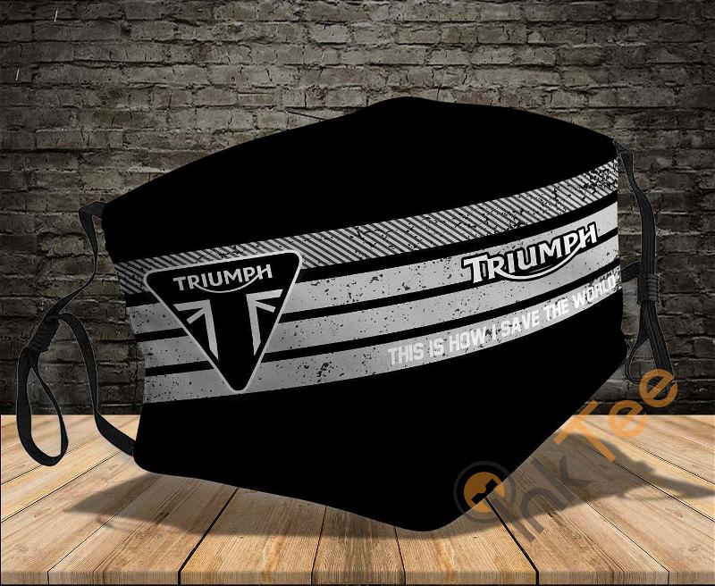 Triumph Motorcycles Save The World Sku 763 Amazon Best Selling Face Mask