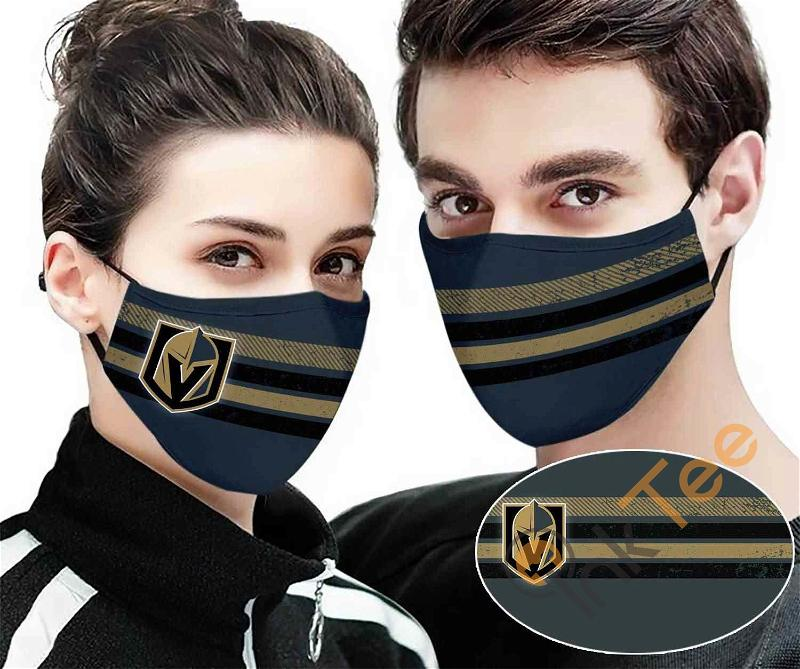 Vegas Golden Knights Colour Sku 455 Amazon Best Selling Face Mask