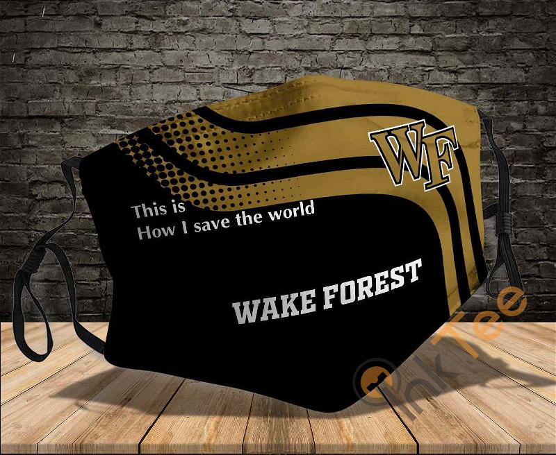 Wake Forest Demon Deacons Save The World Sku 889 Amazon Best Selling Face Mask