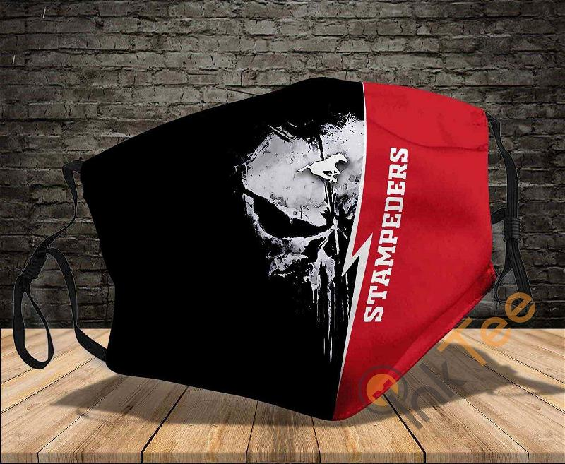 Calgary Stampeders Washable Reusable Amazon Best Selling Sku554 Face Mask