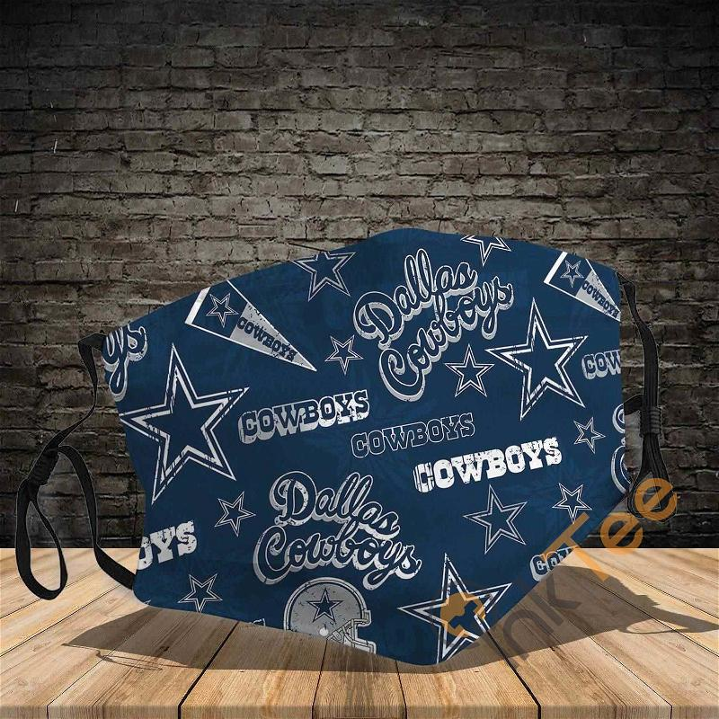 Dallas Cowboys Filter Activated Carbon Pm 2.5 Amazon Best Selling Sku1139 Face Mask