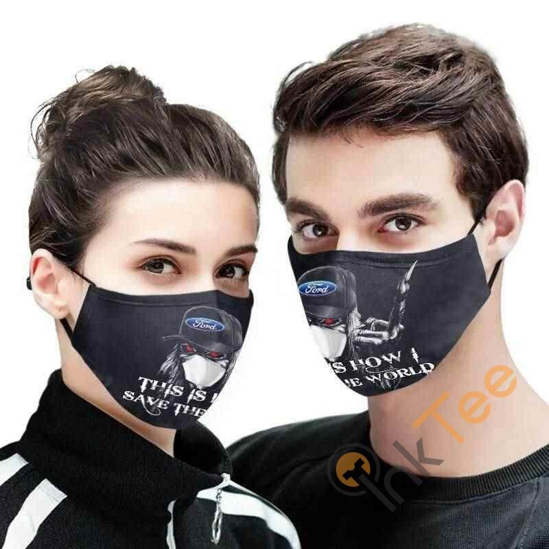 Ford Iron Maiden Amazon Best Selling Sku1003 Face Mask