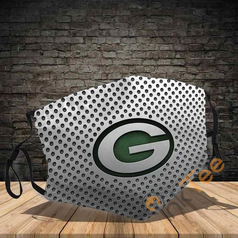 Green Bay Packers Filter Activated Carbon Pm 2.5 Amazon Best Selling Sku1183 Face Mask