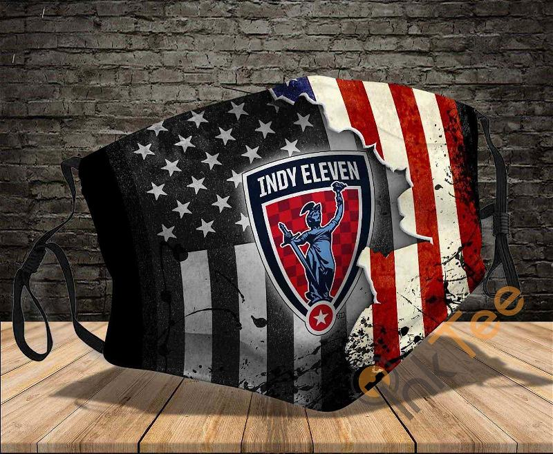 Indy Eleven Washable Reusable Amazon Best Selling Sku1228 Face Mask