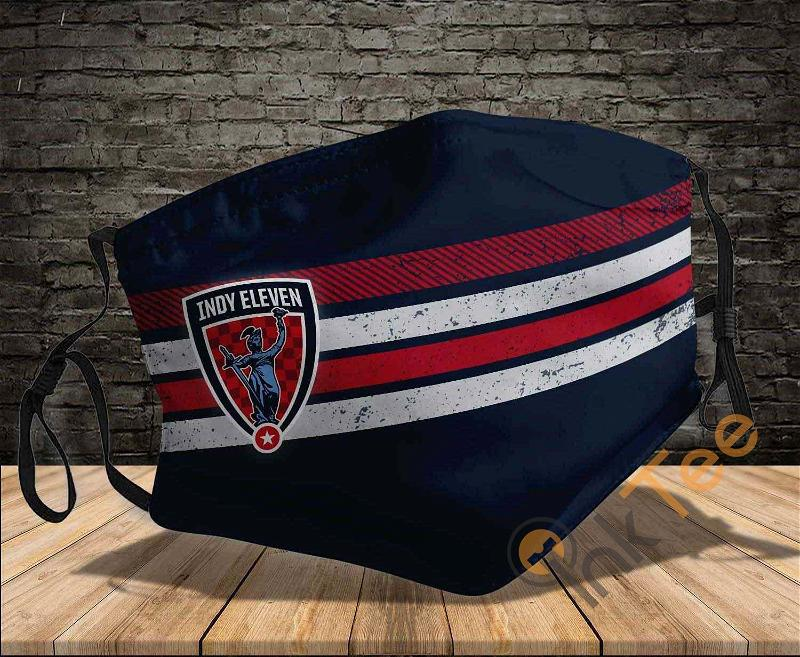 Indy Eleven Washable Reusable Amazon Best Selling Sku1230 Face Mask