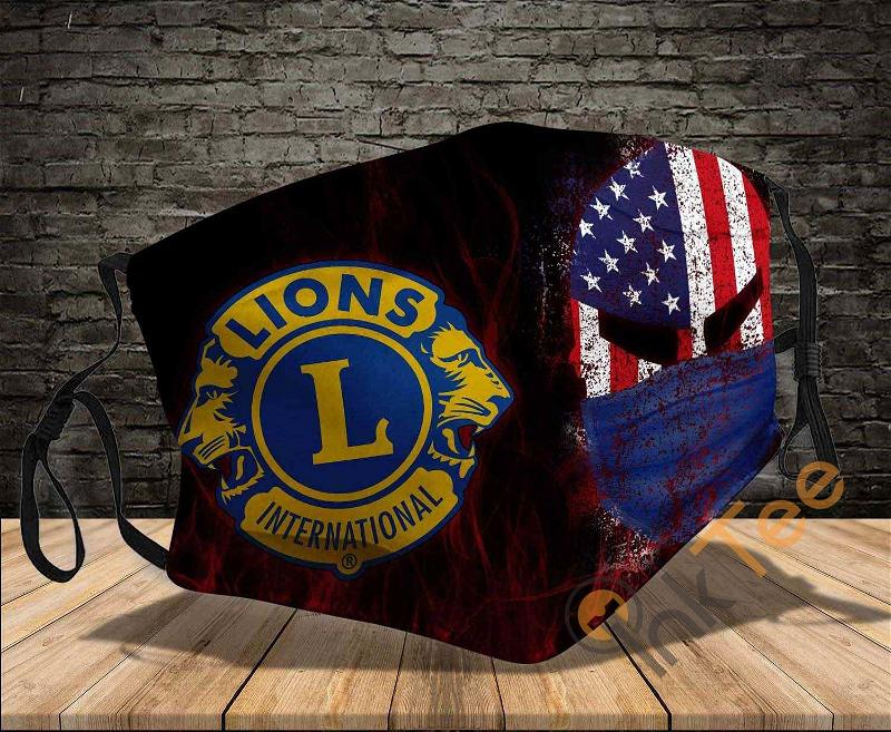 Lions Clubs International Washable Reusable Amazon Best Selling Sku1410 Face Mask