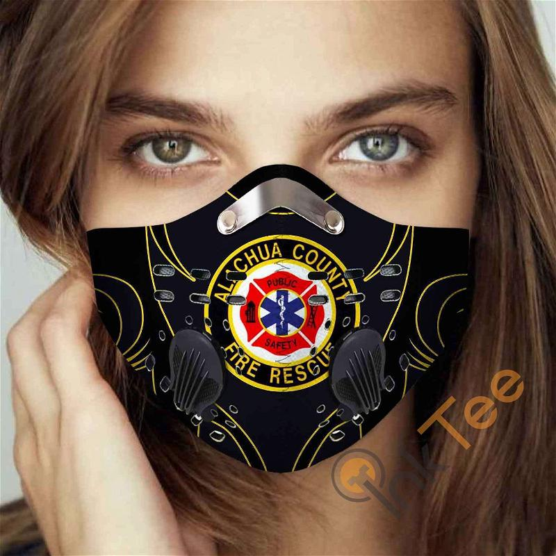 Alachua-county-fire-rescue-(florida) Filter Activated Carbon Pm 2.5 Fm Sku 3450 Face Mask