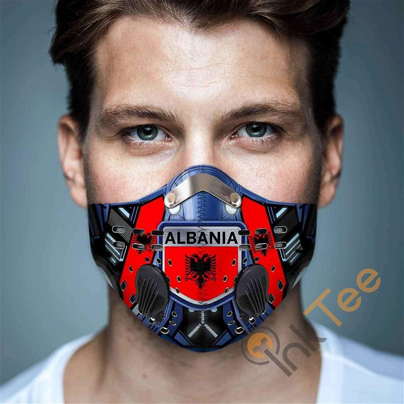 Albania Filter Activated Carbon Pm 2.5 Fm Sku 3440 Face Mask
