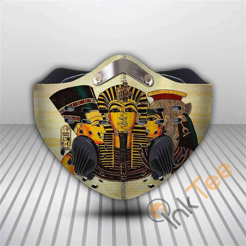 Ancient Egyptian Filter Activated Carbon Pm 2.5 Fm Sku 3558 Face Mask