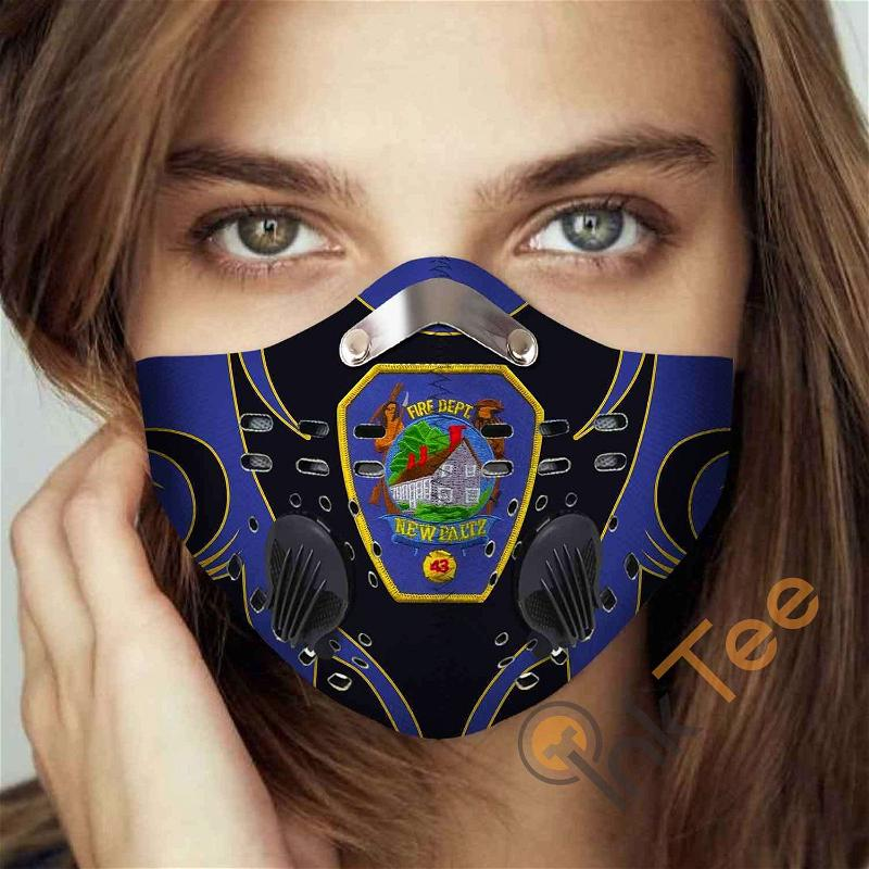 Bloomington-fire-department-(new-york) Filter Activated Carbon Pm 2.5 Fm Sku 3458 Face Mask