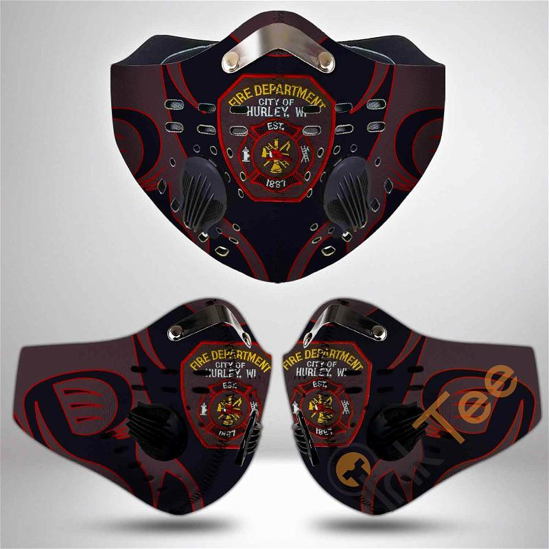 Bloomington-fire-department-(wisconsin) Filter Activated Carbon Pm 2.5 Fm Sku 3459 Face Mask
