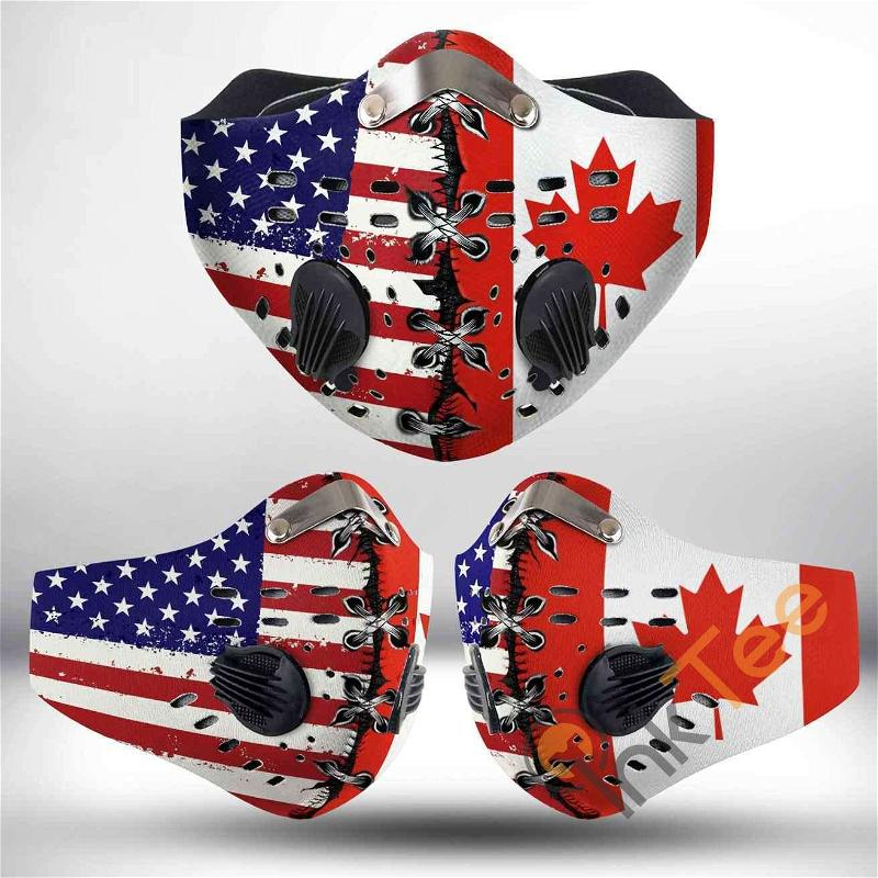 Canada Filter Activated Carbon Pm 2.5 Fm Sku 1534 Face Mask