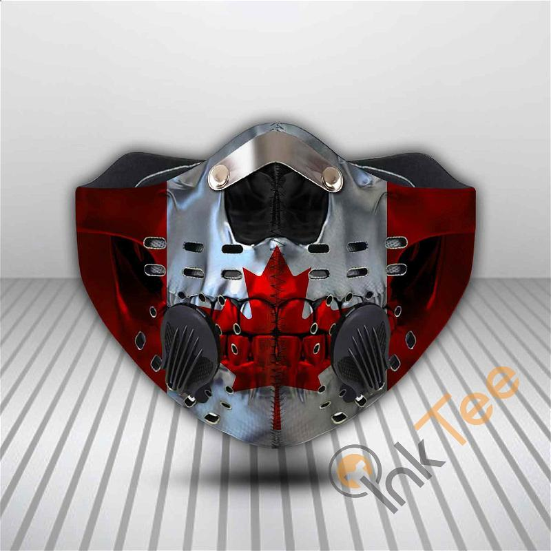 Canada Filter Activated Carbon Pm 2.5 Fm Sku 3550 Face Mask