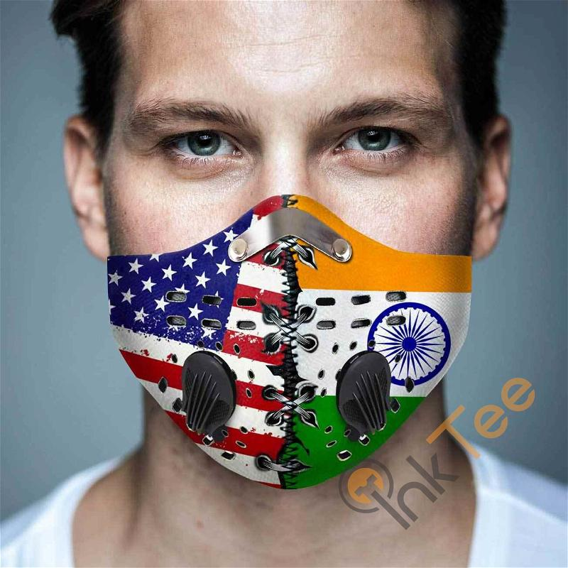 India Filter Activated Carbon Pm 2.5 Fm Sku 1540 Face Mask