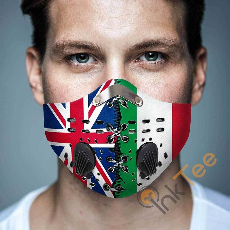 Italy Filter Activated Carbon Pm 2.5 Fm Sku 1565 Face Mask
