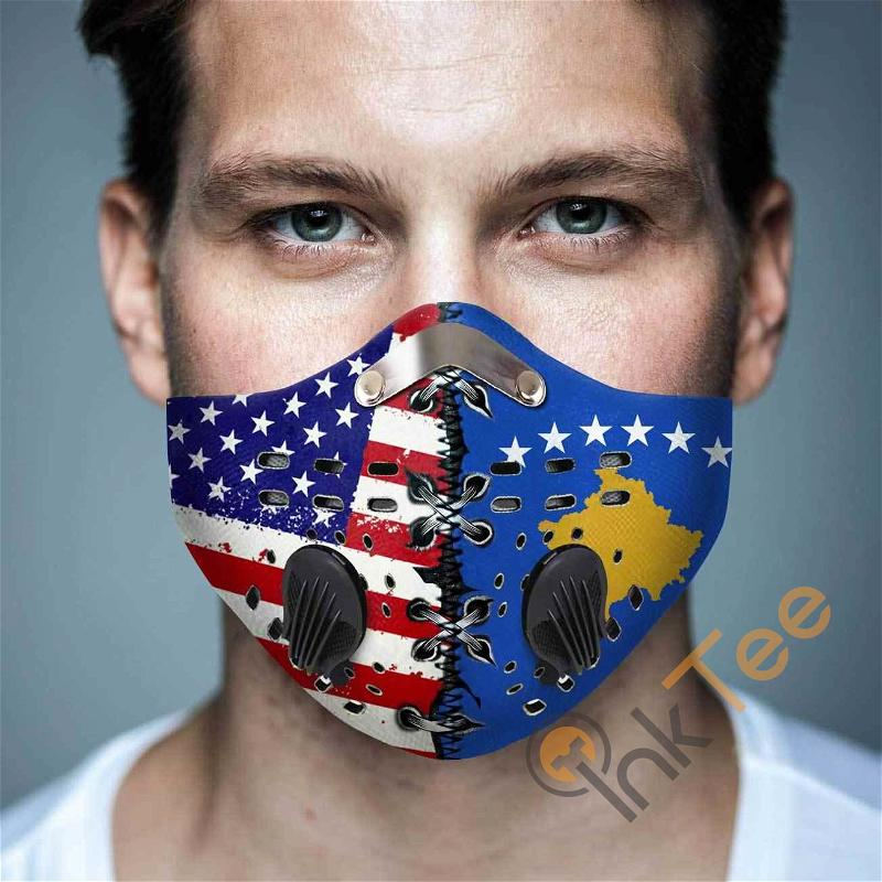 Kosovo Filter Activated Carbon Pm 2.5 Fm Sku 1539 Face Mask