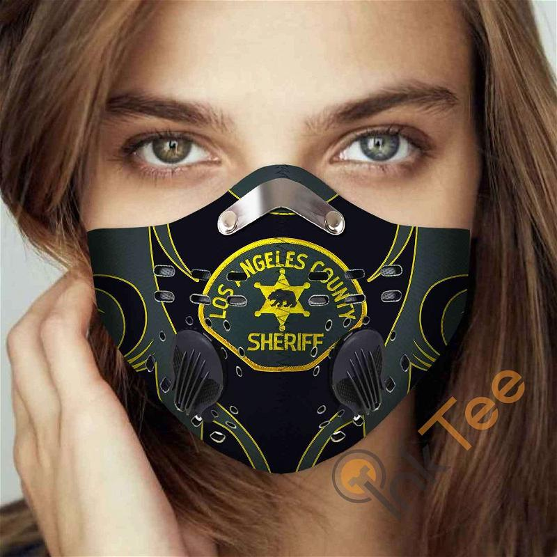 Los Angeles County Sheriff's Department Filter Activated Carbon Pm 2.5 Fm Sku 3472 Face Mask
