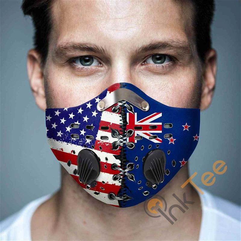 New Zealand Filter Activated Carbon Pm 2.5 Fm Sku 1537 Face Mask