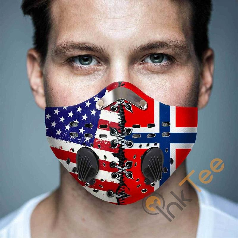 Norway Filter Activated Carbon Pm 2.5 Fm Sku 1543 Face Mask