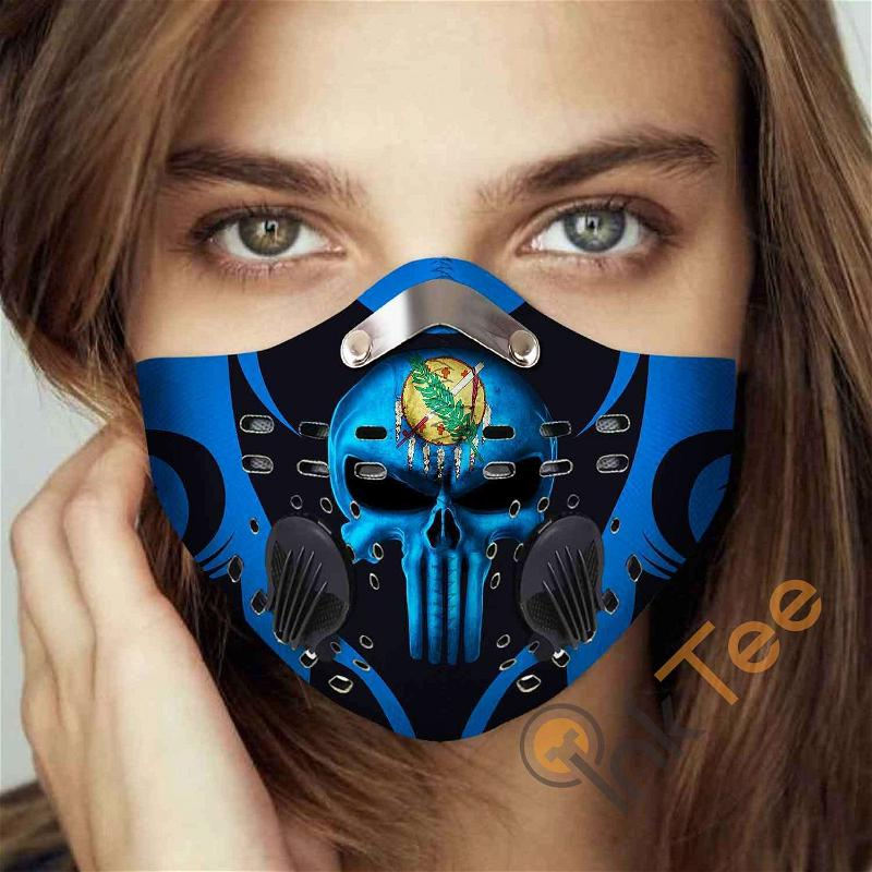 Oklahoma Filter Activated Carbon Pm 2.5 Fm Sku 3410 Face Mask