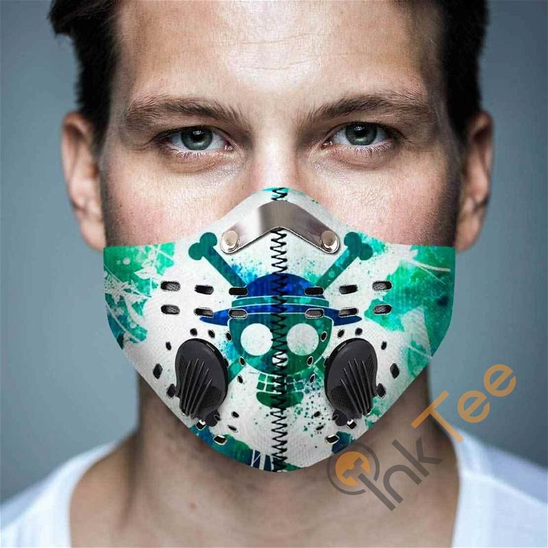 One Piece Filter Activated Carbon Pm 2.5 Fm Sku 3629 Face Mask