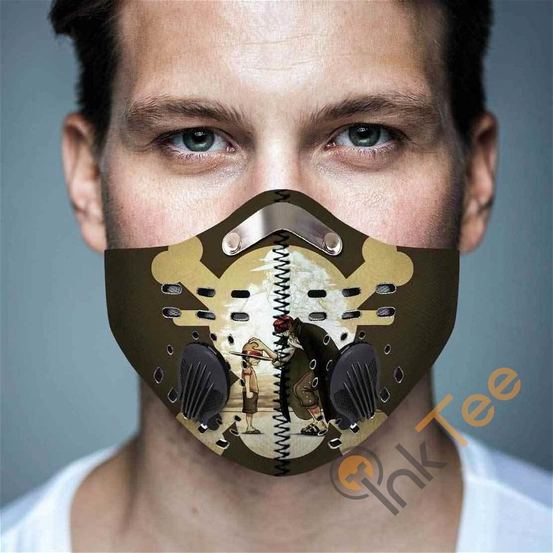One Piece Filter Activated Carbon Pm 2.5 Fm Sku 3634 Face Mask