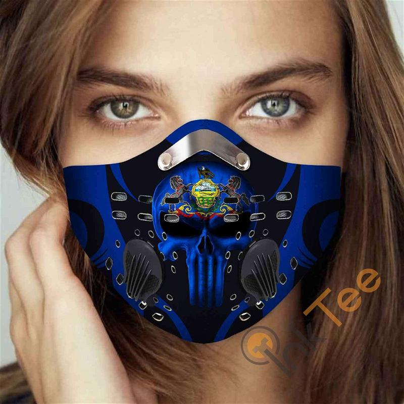 Pennsylvania Filter Activated Carbon Pm 2.5 Fm Sku 3412 Face Mask