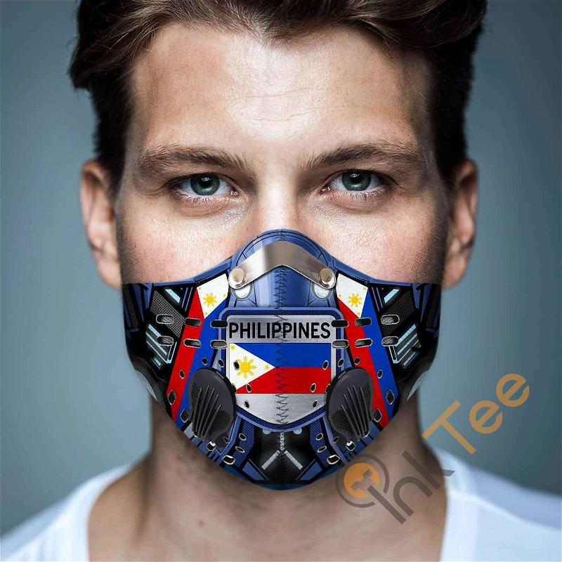 Philippines Filter Activated Carbon Pm 2.5 Fm Sku 3446 Face Mask