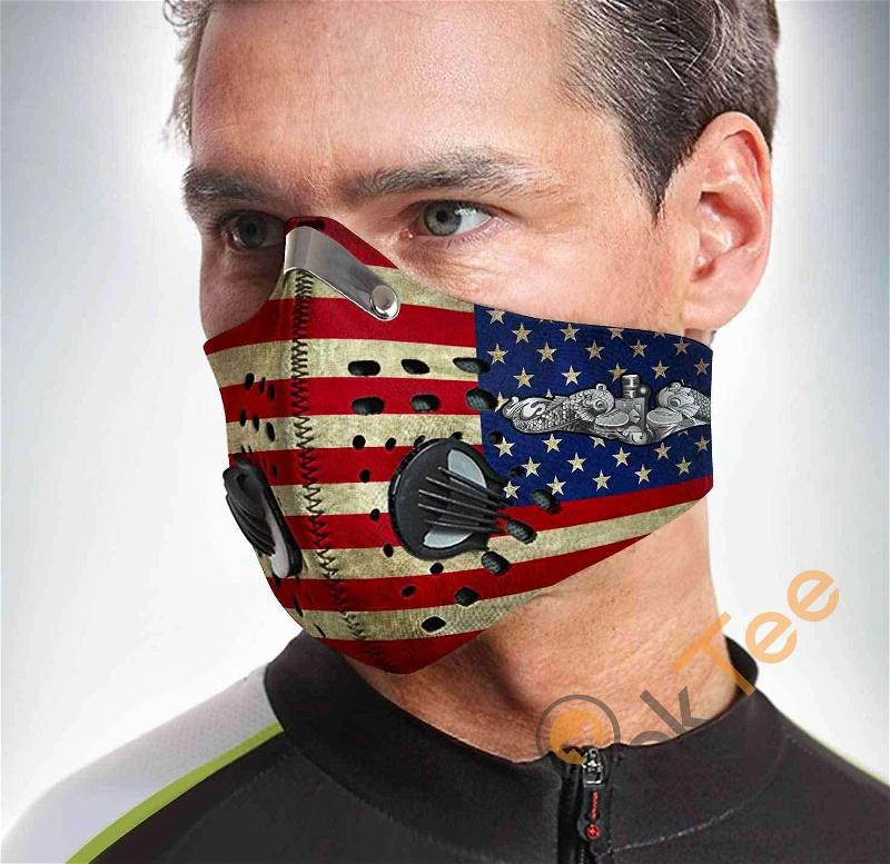 Submarine Filter Activated Carbon Pm 2.5 Fm Sku 1559 Face Mask