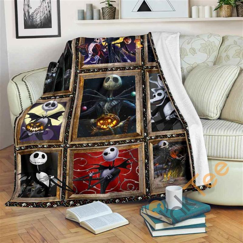 Blanket Jack Skellington Fleece Blanket