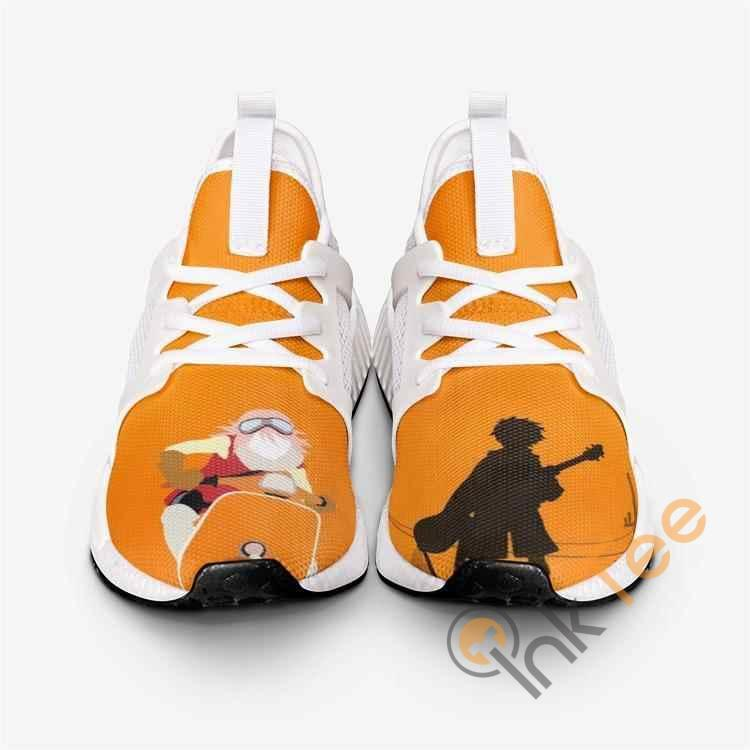 Flcl Fooly Cooly Silhouette Custom NMD Human Shoes